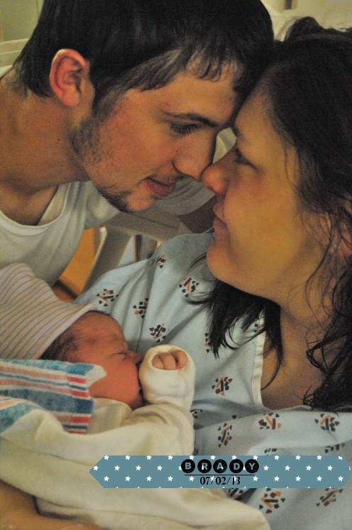 Brady&mum&dad